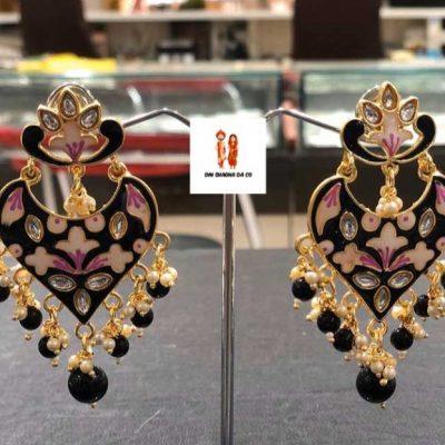 Buy Black Earrings Online