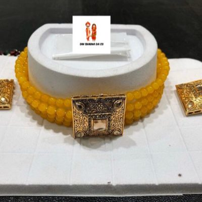 Buy Orange Choker Set Online