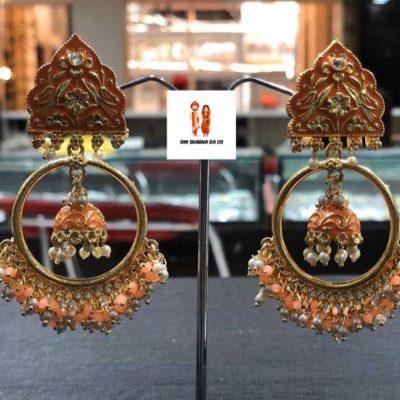 Buy Orange Earrings Online