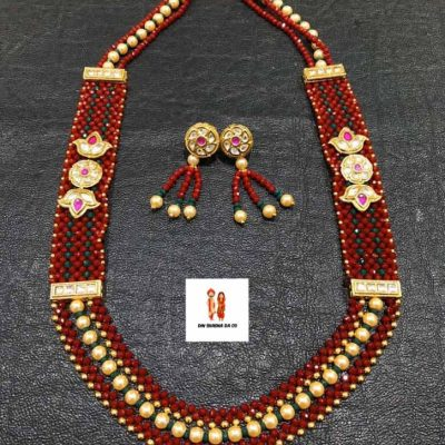 Buy Pearls Necklace with Earrings Online