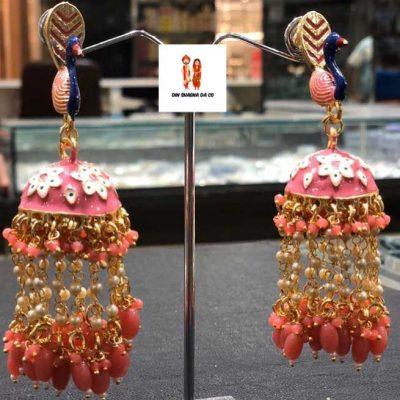 Buy Pink Earrings Online