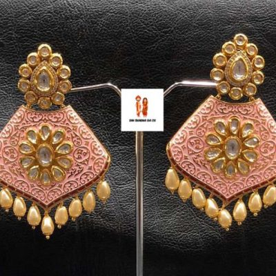 Buy Real Kundan Earrings Online