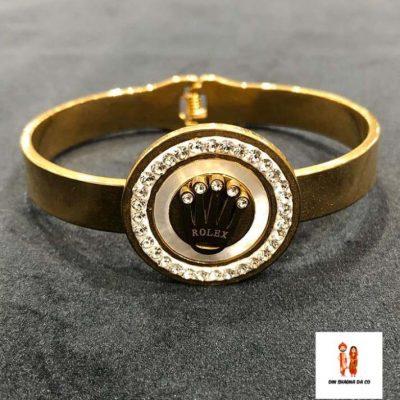 Buy Rolex Unisex Golden Bracelet Online