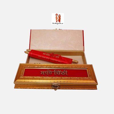 Buy Wedding Shahi Chithi Online