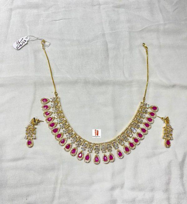 Buy American Diamond Necklace Online