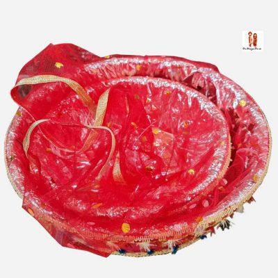 Buy Red Decorative Basket Online