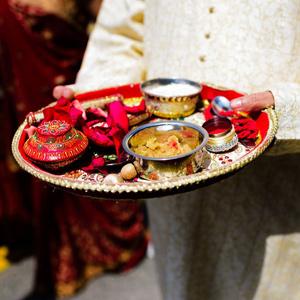 Wedding Pooja Thali